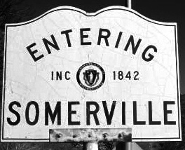 entering smrville b&w